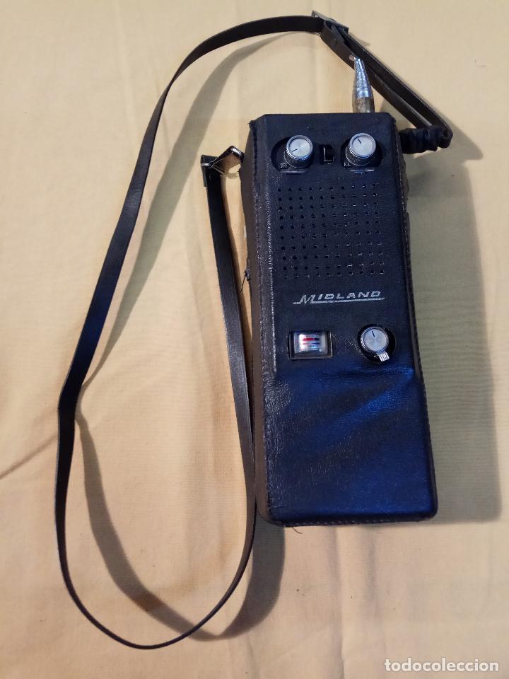Radios antiguas: ANTIGUO WALKIE TALKIE MIDLAND MADE IN JAPAN MOD. 13 - 760 - Foto 2 - 110244411