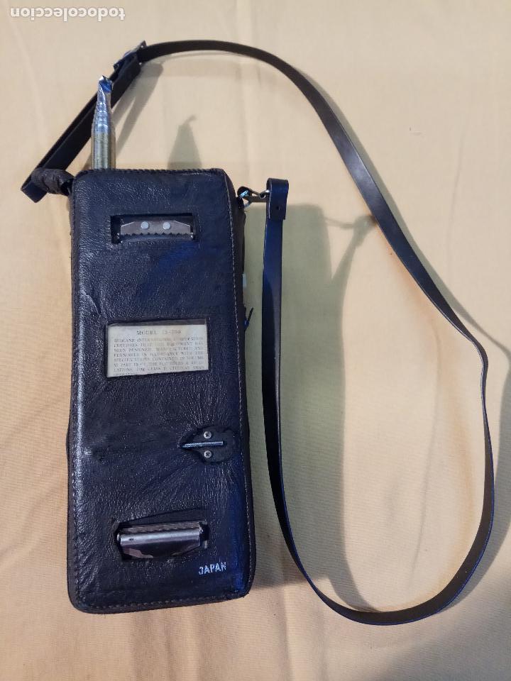Radios antiguas: ANTIGUO WALKIE TALKIE MIDLAND MADE IN JAPAN MOD. 13 - 760 - Foto 3 - 110244411