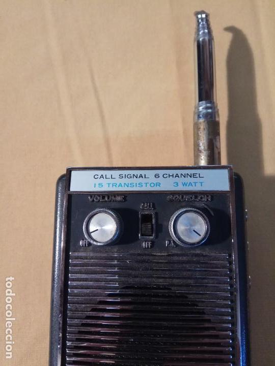 Radios antiguas: ANTIGUO WALKIE TALKIE MIDLAND MADE IN JAPAN MOD. 13 - 760 - Foto 8 - 110244411