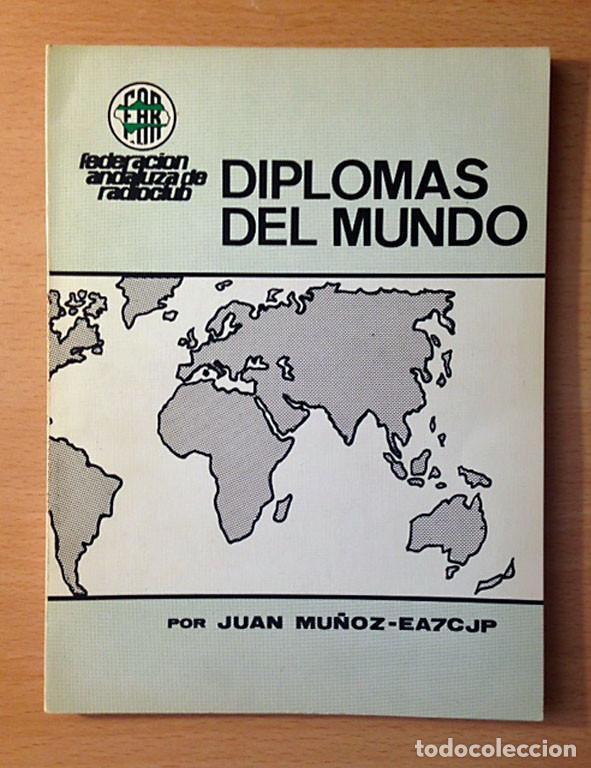 RADIOAFICIONADOS - DIPLOMAS DEL MUNDO - EA7CJP - 1983 (Radios, Gramófonos, Grabadoras y Otros - Radioaficionados)