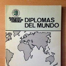 Radios antiguas: RADIOAFICIONADOS - DIPLOMAS DEL MUNDO - EA7CJP - 1983. Lote 110971907