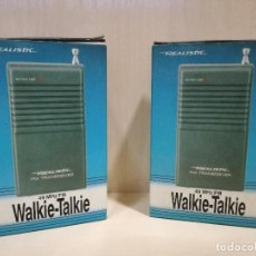 Radios antiguas: 2 WALKIE TALKIE WALKIE-TALKIE - REALISTIC TRC-505 . Lote 114915443