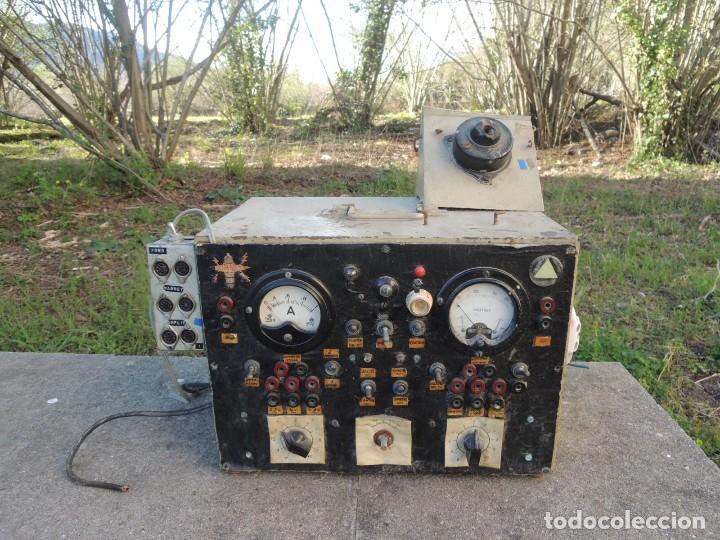 RADIO AMPLIFICADOR RARO DE LA MARCA LUBAES CON VÁLVULAS (Radios, Gramófonos, Grabadoras y Otros - Radioaficionados)