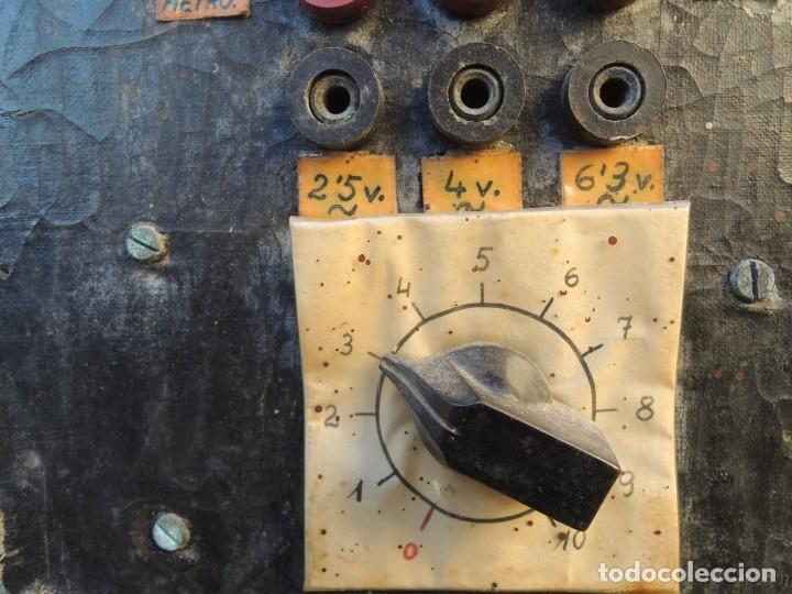 Radios antiguas: RADIO AMPLIFICADOR RARO DE LA MARCA LUBAES CON VÁLVULAS - Foto 11 - 127970086