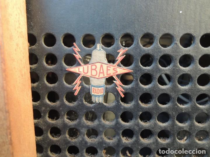 Radios antiguas: RADIO AMPLIFICADOR RARO DE LA MARCA LUBAES CON VÁLVULAS - Foto 24 - 127970086