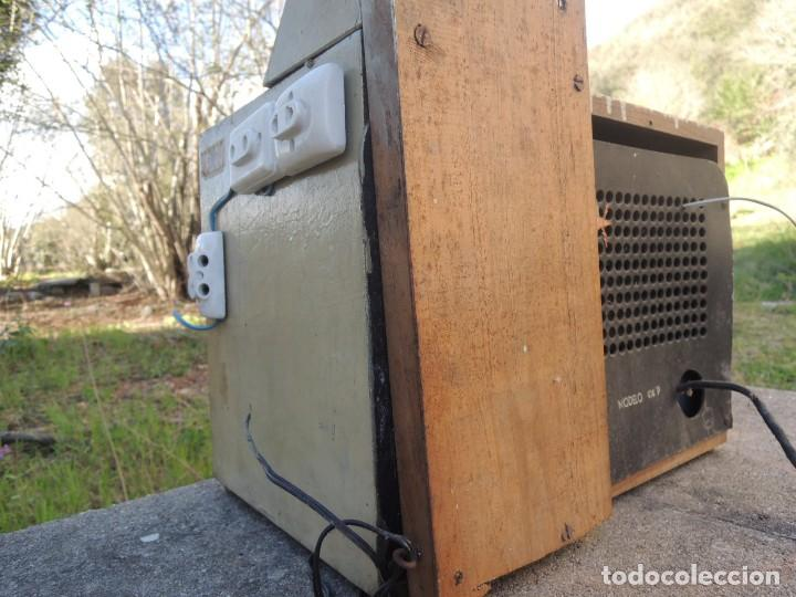 Radios antiguas: RADIO AMPLIFICADOR RARO DE LA MARCA LUBAES CON VÁLVULAS - Foto 31 - 127970086