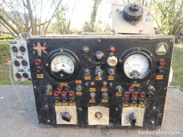Radios antiguas: RADIO AMPLIFICADOR RARO DE LA MARCA LUBAES CON VÁLVULAS - Foto 38 - 127970086