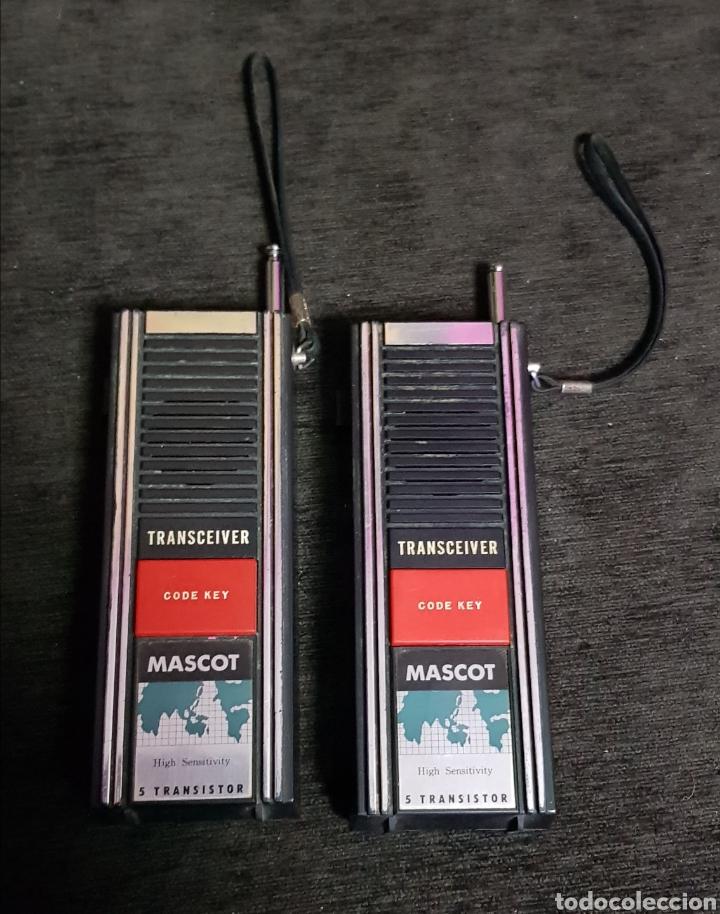 VINTAGE WALKIE TALKIES MASCOT AÑOS 80'S (Radios, Gramófonos, Grabadoras y Otros - Radioaficionados)
