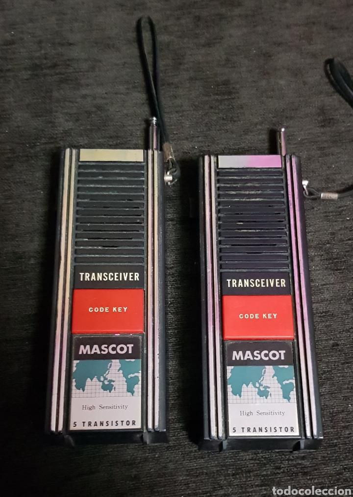 Radios antiguas: Vintage Walkie Talkies Mascot años 80s - Foto 3 - 118068758