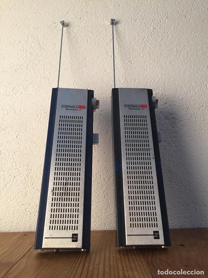 Radios antiguas: Radio teléfono Fermax CB emisor receptor - walkie talkie - Foto 4 - 119542011