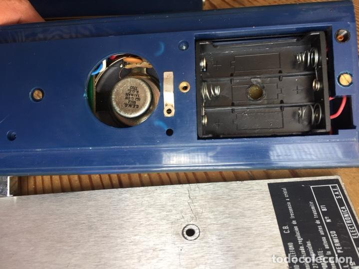 Radios antiguas: Radio teléfono Fermax CB emisor receptor - walkie talkie - Foto 6 - 119542011
