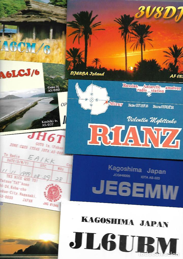 Radios antiguas: IMPRESIONANTE LOTE DE MAS DE 1300 TARJETAS DE RADIOAFICIONADOS DEL MUNDO - Foto 2 - 121122151