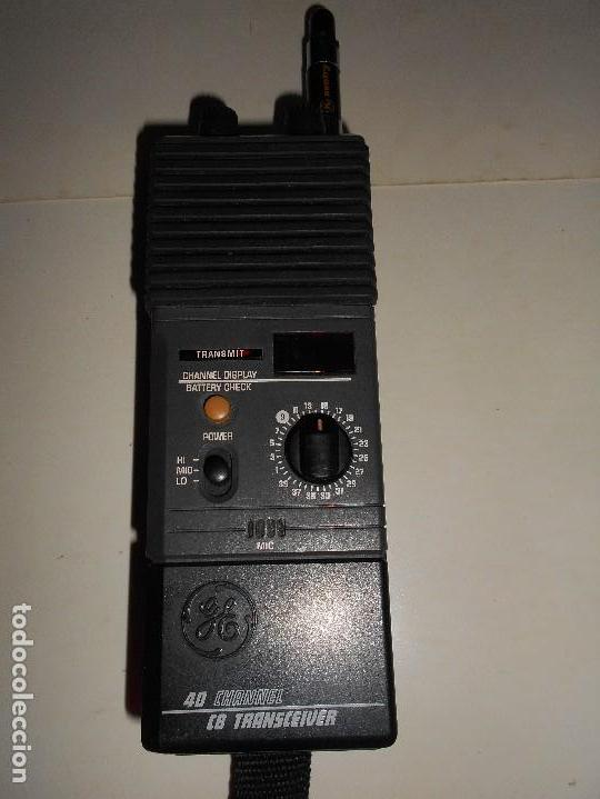Radios antiguas: walkie GE-40-Channel-Transceiver-Handheld-CB-3-5979A- - Foto 1 - 123366619