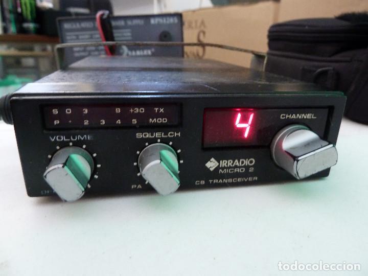 EMISORA DE RADIOAFICIONADO BANDA CIUDADANA CB IRRADIO MICRO 2 (Radios, Gramófonos, Grabadoras y Otros - Radioaficionados)