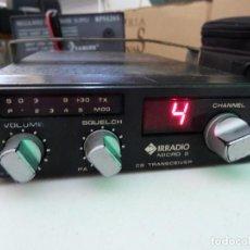 Radios antiguas: EMISORA DE RADIOAFICIONADO BANDA CIUDADANA CB IRRADIO MICRO 2. Lote 157983169