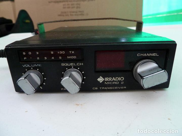 Radios antiguas: EMISORA DE RADIOAFICIONADO BANDA CIUDADANA CB IRRADIO MICRO 2 - Foto 3 - 157983169