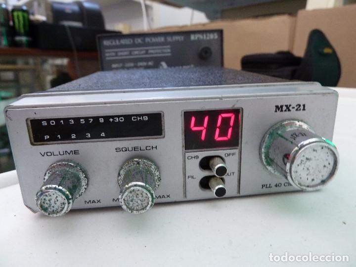 EMISORA DE RADIOAFICIONADO BANDA CIUDADANA CB MAXON MX-21 (Radios, Gramófonos, Grabadoras y Otros - Radioaficionados)