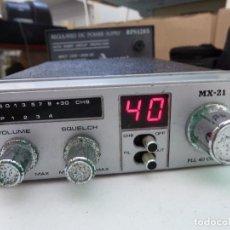 Radios antiguas: EMISORA DE RADIOAFICIONADO BANDA CIUDADANA CB MAXON MX-21. Lote 124646863