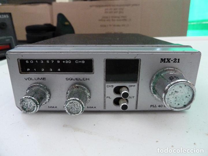 Radios antiguas: EMISORA DE RADIOAFICIONADO BANDA CIUDADANA CB MAXON MX-21 - Foto 3 - 124646863