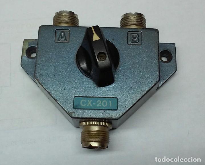 CONMUTADOR COAXIAL DE ANTENAS CX-201......SANNA (Radios, Gramófonos, Grabadoras y Otros - Radioaficionados)