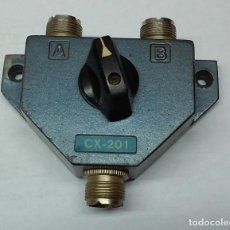 Radios antiguas: CONMUTADOR COAXIAL DE ANTENAS CX-201......SANNA. Lote 125042251
