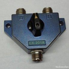 Radios antiguas: CONMUTADOR COAXIAL DE ANTENAS, CX-201A.......SANNA. Lote 125043031