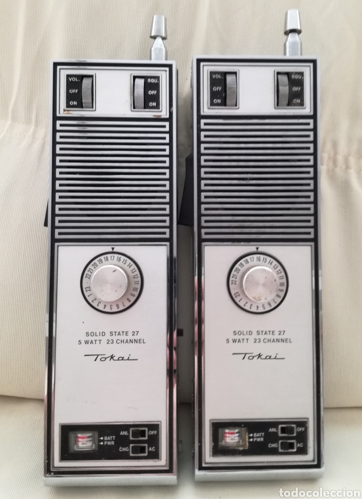ANTIGUO WALKIE TOKAI TC-5011. (Radios, Gramófonos, Grabadoras y Otros - Radioaficionados)