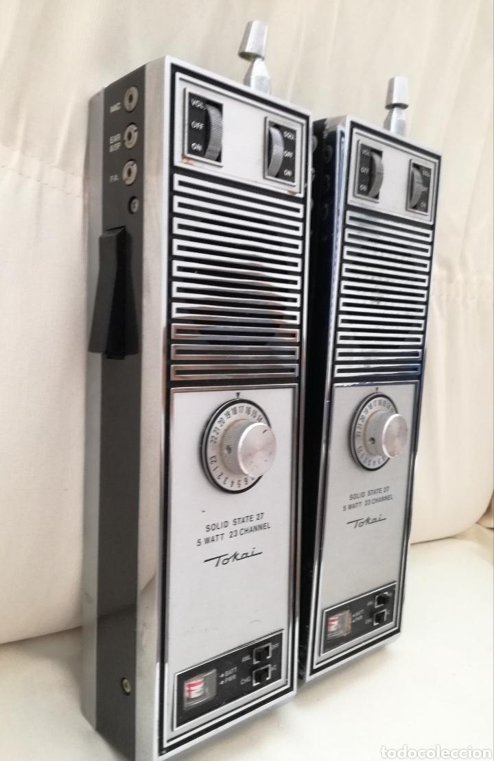 Radios antiguas: Antiguo Walkie Tokai TC-5011. - Foto 2 - 153949218