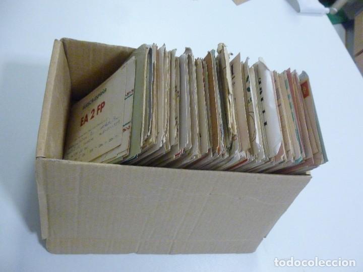 Radios antiguas: Gran lote de tarjetas QSL radioaficionados aproximadamente 500 de distintos paises - Foto 2 - 129124111