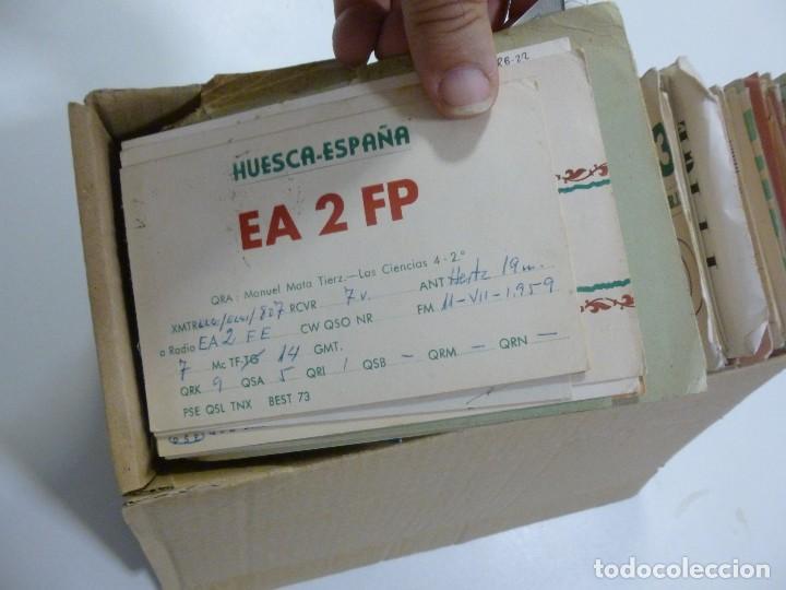 Radios antiguas: Gran lote de tarjetas QSL radioaficionados aproximadamente 500 de distintos paises - Foto 3 - 129124111