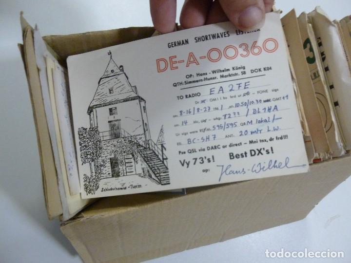 Radios antiguas: Gran lote de tarjetas QSL radioaficionados aproximadamente 500 de distintos paises - Foto 5 - 129124111