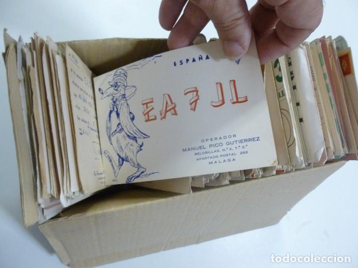 Radios antiguas: Gran lote de tarjetas QSL radioaficionados aproximadamente 500 de distintos paises - Foto 7 - 129124111