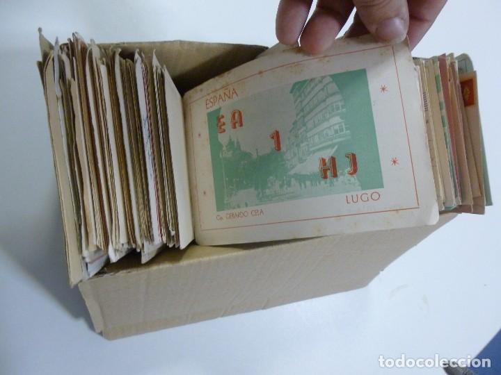 Radios antiguas: Gran lote de tarjetas QSL radioaficionados aproximadamente 500 de distintos paises - Foto 8 - 129124111