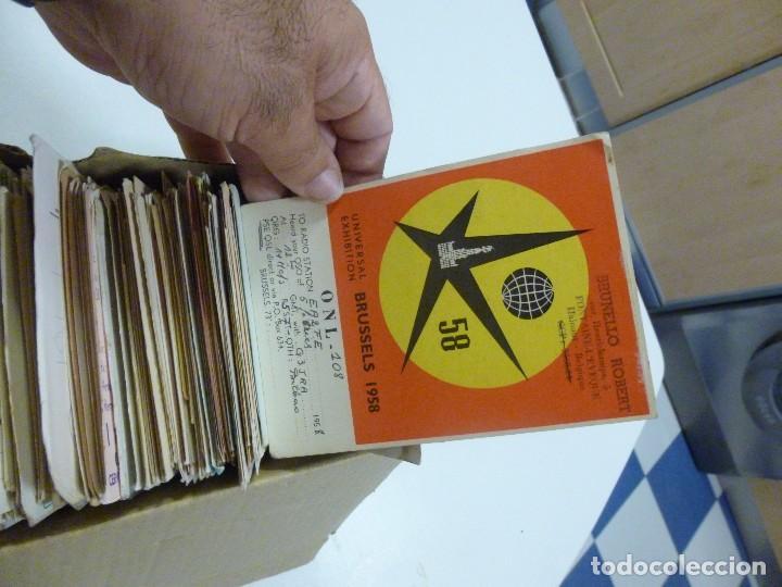 Radios antiguas: Gran lote de tarjetas QSL radioaficionados aproximadamente 500 de distintos paises - Foto 13 - 129124111