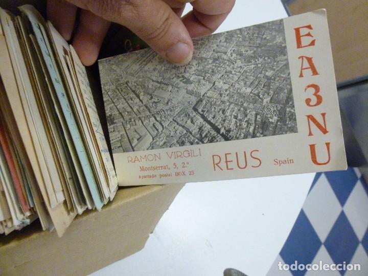 Radios antiguas: Gran lote de tarjetas QSL radioaficionados aproximadamente 500 de distintos paises - Foto 14 - 129124111
