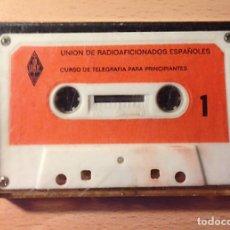 Radios antiguas: URE - UNION DE RADIOAFICIONADOS ESPAÑOLES - CURSO DE TELEGRAFIA CW PARA PRINCIPIANTES. Lote 130933300