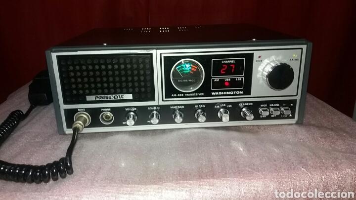 EMISORA DE RADIO PRESIDENT WASHINGTON.PERFECTO ESTADO!!! (Radios, Gramófonos, Grabadoras y Otros - Radioaficionados)