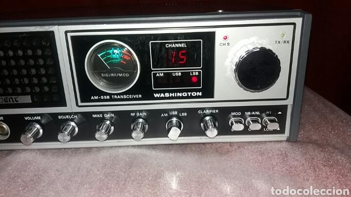 Radios antiguas: EMISORA DE RADIO PRESIDENT WASHINGTON.PERFECTO ESTADO!!! - Foto 2 - 131586829