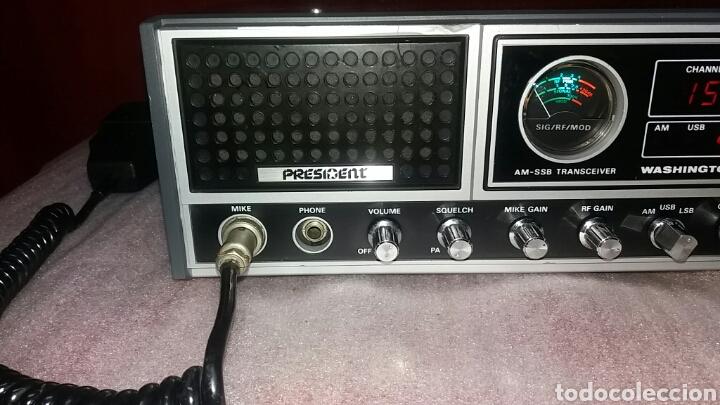 Radios antiguas: EMISORA DE RADIO PRESIDENT WASHINGTON.PERFECTO ESTADO!!! - Foto 3 - 131586829