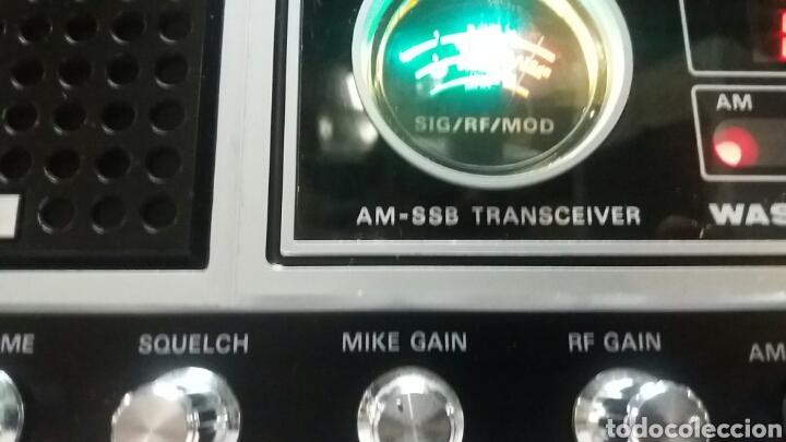Radios antiguas: EMISORA DE RADIO PRESIDENT WASHINGTON.PERFECTO ESTADO!!! - Foto 6 - 131586829