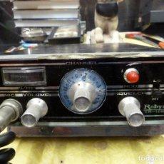 Radios antiguas: EMISORA DE RADIOAFICIONADO BANDA CIUDADANA CB ROBYN TR-123C. Lote 133750990