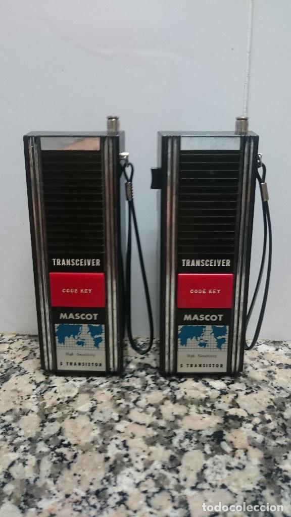 WALKIE TALKIE MASCOT (Radios, Gramófonos, Grabadoras y Otros - Radioaficionados)
