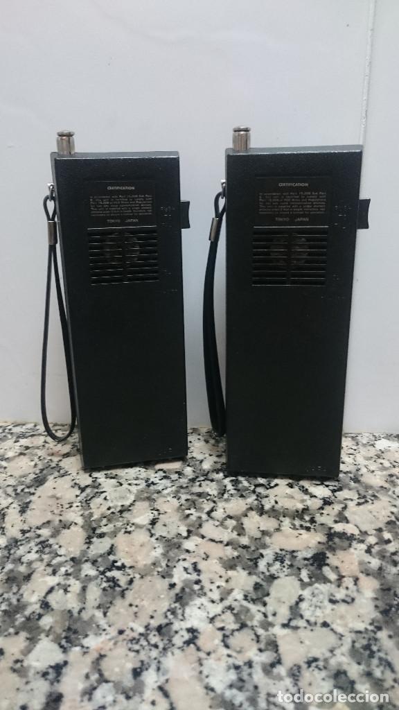 Radios antiguas: WALKIE TALKIE MASCOT - Foto 3 - 134468282