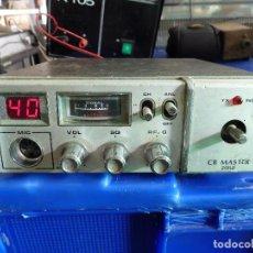 Radios antiguas: EMISORA DE RADIOAFICIONADO BANDA CIUDADANA CB MASTER 2080. Lote 135668075