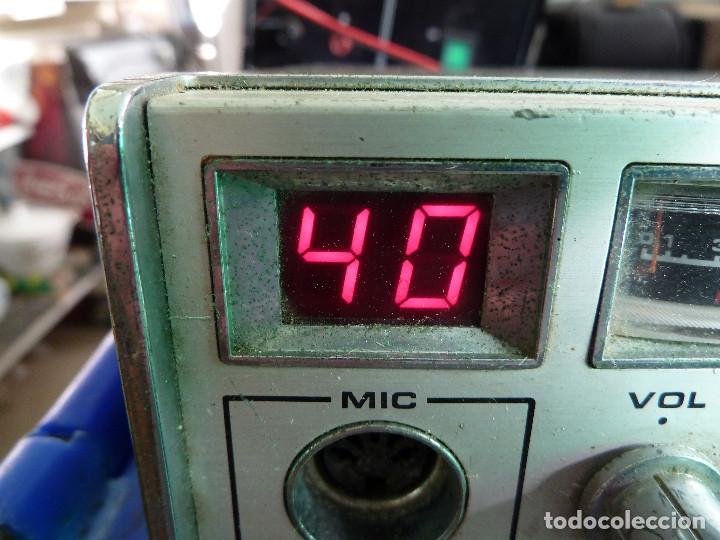 Radios antiguas: EMISORA DE RADIOAFICIONADO BANDA CIUDADANA CB MASTER 2080 - Foto 2 - 135668075