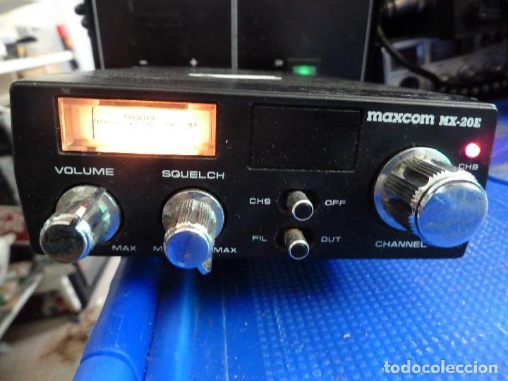 EMISORA DE RADIOAFICIONADO BANDA CIUDADANA CB MAXCOM MX-20E (Radios, Gramófonos, Grabadoras y Otros - Radioaficionados)