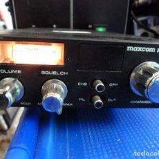 Radios antiguas: EMISORA DE RADIOAFICIONADO BANDA CIUDADANA CB MAXCOM MX-20E. Lote 135688203