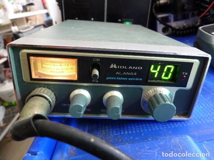 EMISORA DE RADIOAFICIONADO BANDA CIUDADANA CB MIDLAND ALAN 44 (Radios, Gramófonos, Grabadoras y Otros - Radioaficionados)