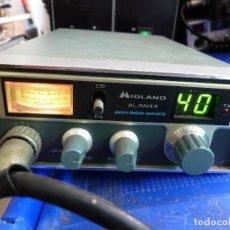 Radios antiguas: EMISORA DE RADIOAFICIONADO BANDA CIUDADANA CB MIDLAND ALAN 44. Lote 135690079