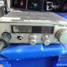 Radios antiguas: EMISORA DE RADIOAFICIONADO BANDA CIUDADANA CB PRESIDENT TAYLOR. Lote 135694147